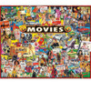 The Movies 1000 piece Jigsaw Puzzle by White Mountain