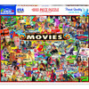 The Movies 1000pc Jigsaw Puzzle by White Mountain