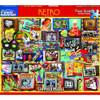 RETRO 550pc Jigsaw Puzzle by White Mountain