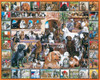 World of Dogs Collage Puzzle