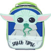 """Star Wars The Mandalorian: """"The Child"""" Lunch Bag Front View"""