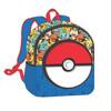 """Pokémon Rubber Pokeball 11"""" Backpack"""