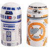 Star Wars BB-8 & R2D2 Sculpted Salt and Pepper Shakers