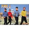 Star Trek FAIL Flat Magnet