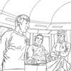 Inside - Star Trek Adult Colouring Book