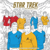 Cover - Star Trek Adult Colouring Book