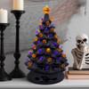 Retro Ceramic Halloween Tree (Lifestyle Shot)