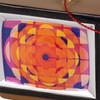 Retro CBC logo ornament close-up