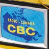 Close Up of Retro CBC Canada Map TV Ornament