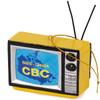 Retro CBC Canada Map TV Christmas Ornament