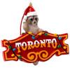 Toronto Raccoon Honest Eds Sign Christmas Ornament