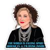 Moira Rose Schitt's Creek sticker