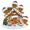 Gingerbread House Family of 5