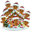 Gingerbread House Family of 7