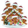 Gingerbread House Family of 8