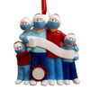 Family of 5 Pandemic Ornament