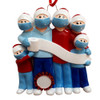 Family of 4 Pandemic Ornament