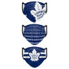 Set of 3 Toronto Maple Leafs Matchday Face Masks