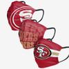 Sanfrancisco 49ers 3 pack face masks