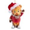 Daniel Tiger Santa Hat Ornament
