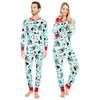 Wild About Christmas His & Hers Union Suit Pajamas