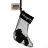 Coal in Naughty Stocking Ornament