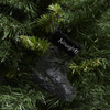 Tree - Coal in Naughty Stocking Ornament
