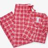 Retro Plaid Christmas Pajamas 2-Piece