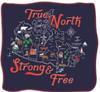 Canada Heritage Fleece Throw Blanket