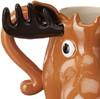 The Canadian Moose Mug - 12 oz Sculpted Ceramic Mug