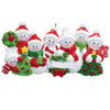 7 - Snow Family Personalized Ornament