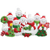 8 - Snow Family Personalized Ornament