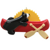 Canoe Personalized Ornament