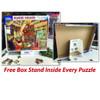 White Mountain puzzle box stand