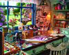 Mom's Craft Room Puzzle by White Mountain