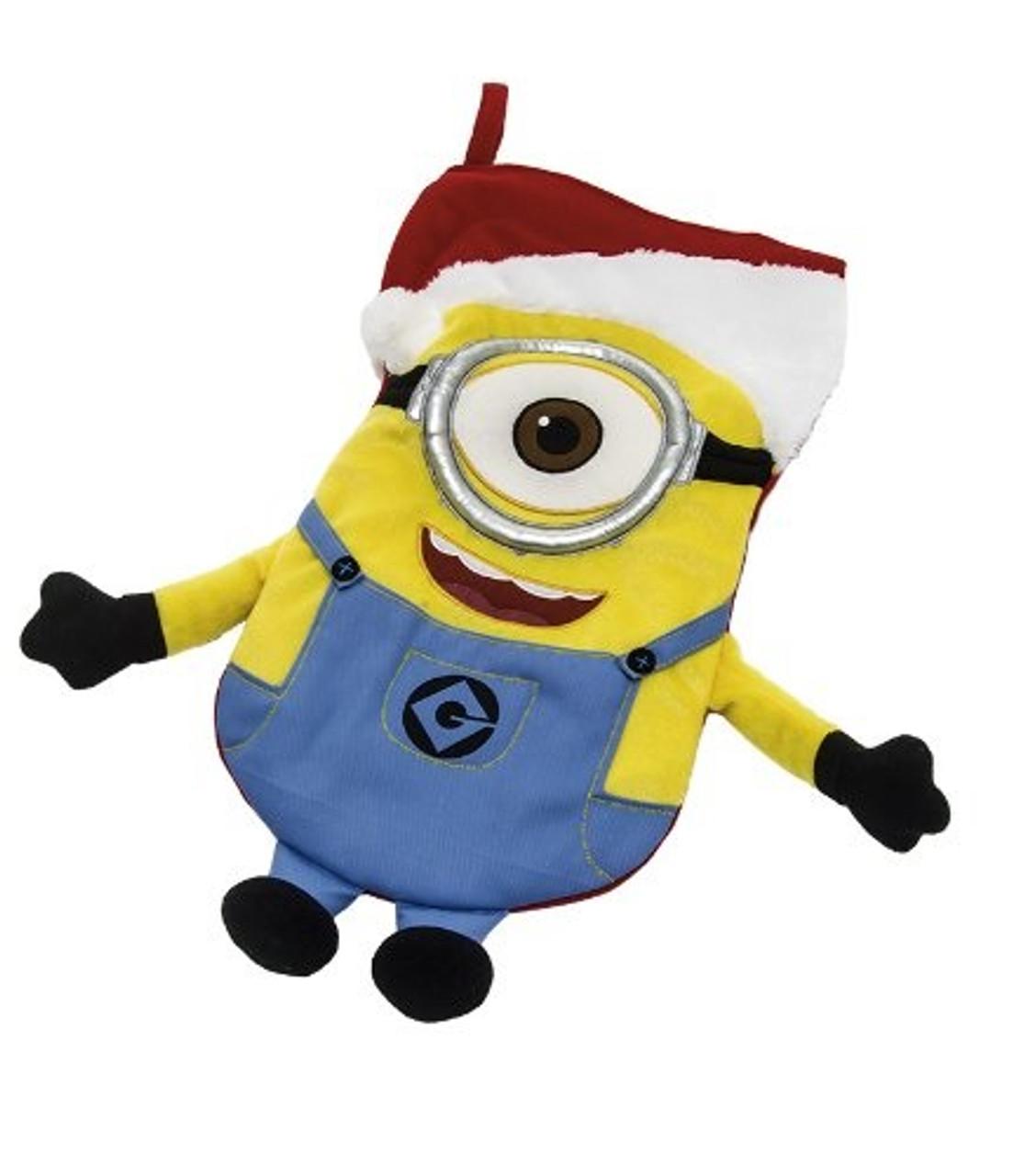 Minion Christmas.Despicable Me Minion Christmas Stocking