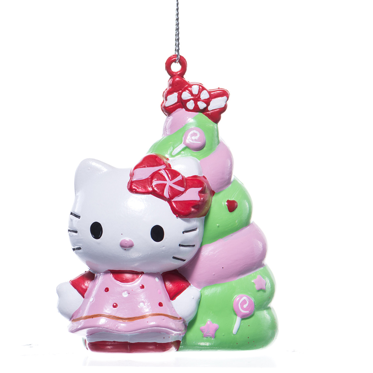 Hello Kitty Blow Mold Christmas Tree Ornament ...