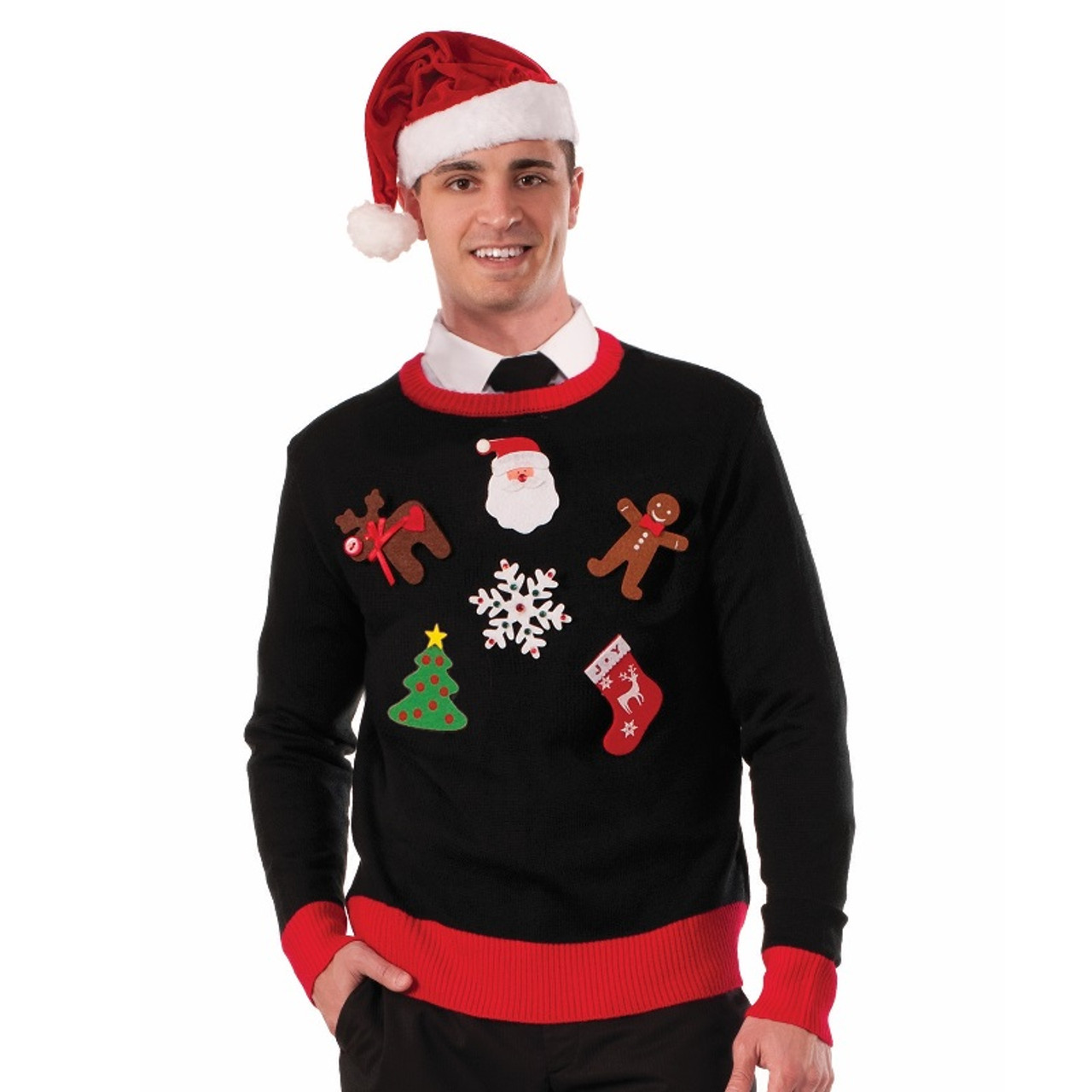 Ugly Christmas Sweater Diy Kit Retrofestiveca