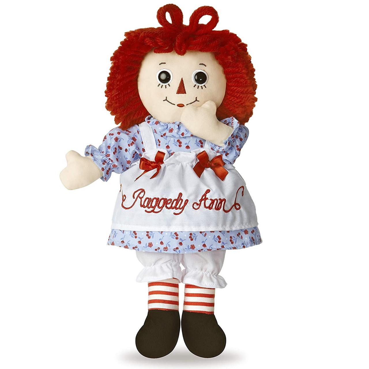 """12"""" Classic Raggedy Ann Doll"""