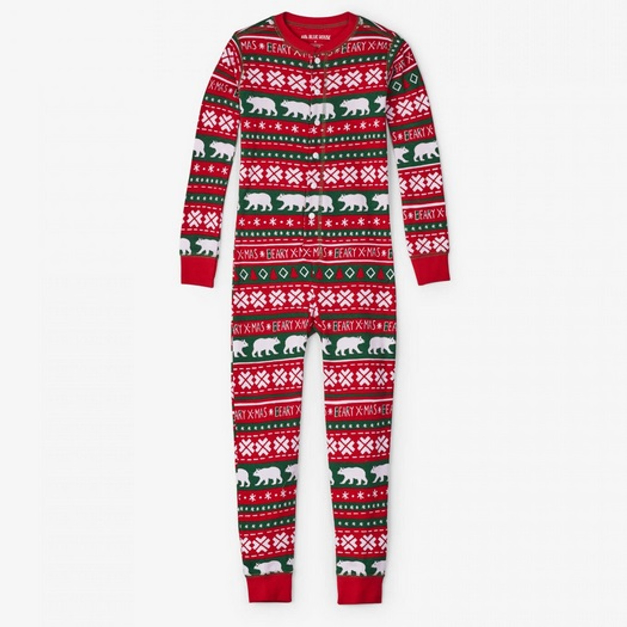 Beary Xmas Kids Christmas Jammies by Hatley Front 36d932304