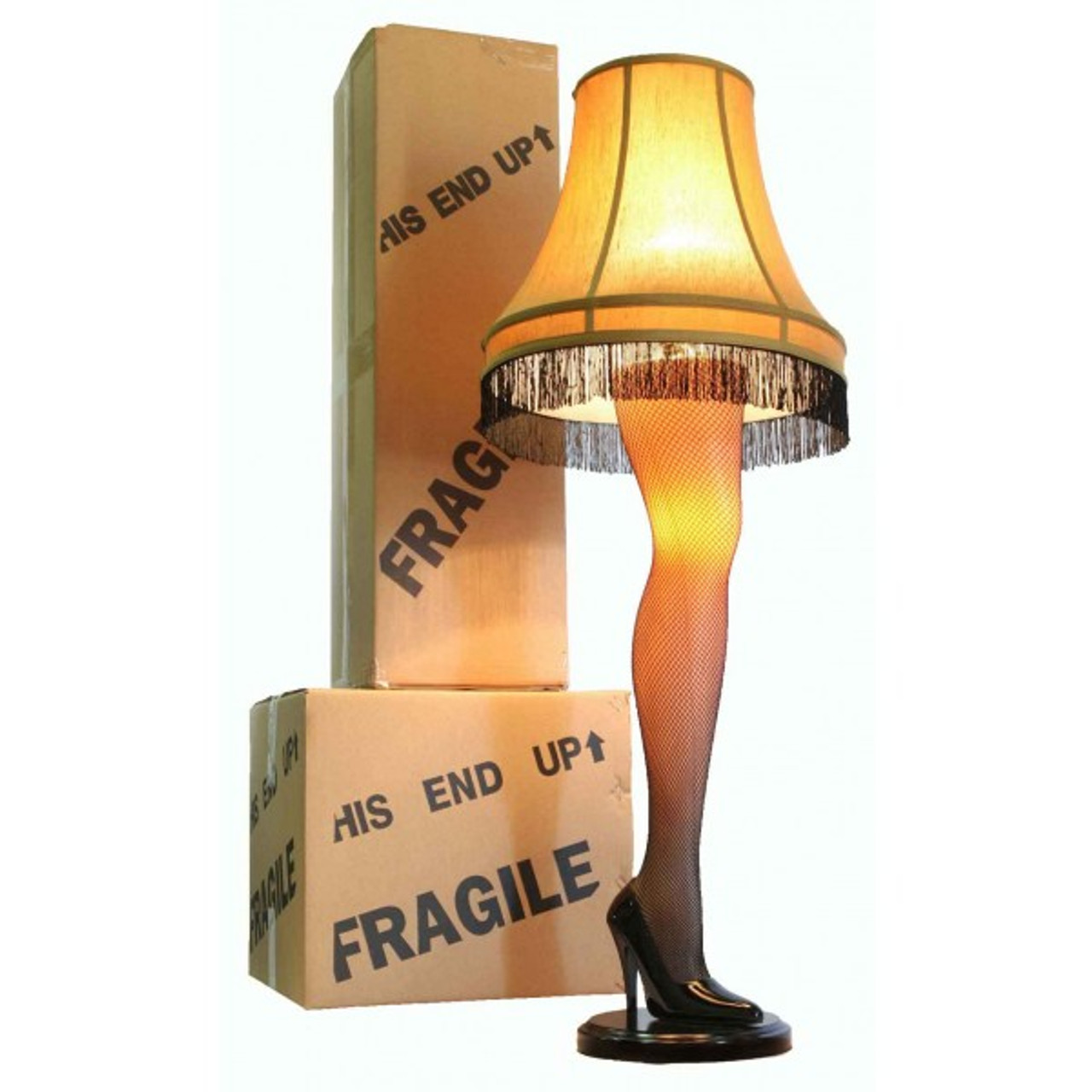 The Christmas Story Lamp.Old Man S Prize Leg Lamp 45