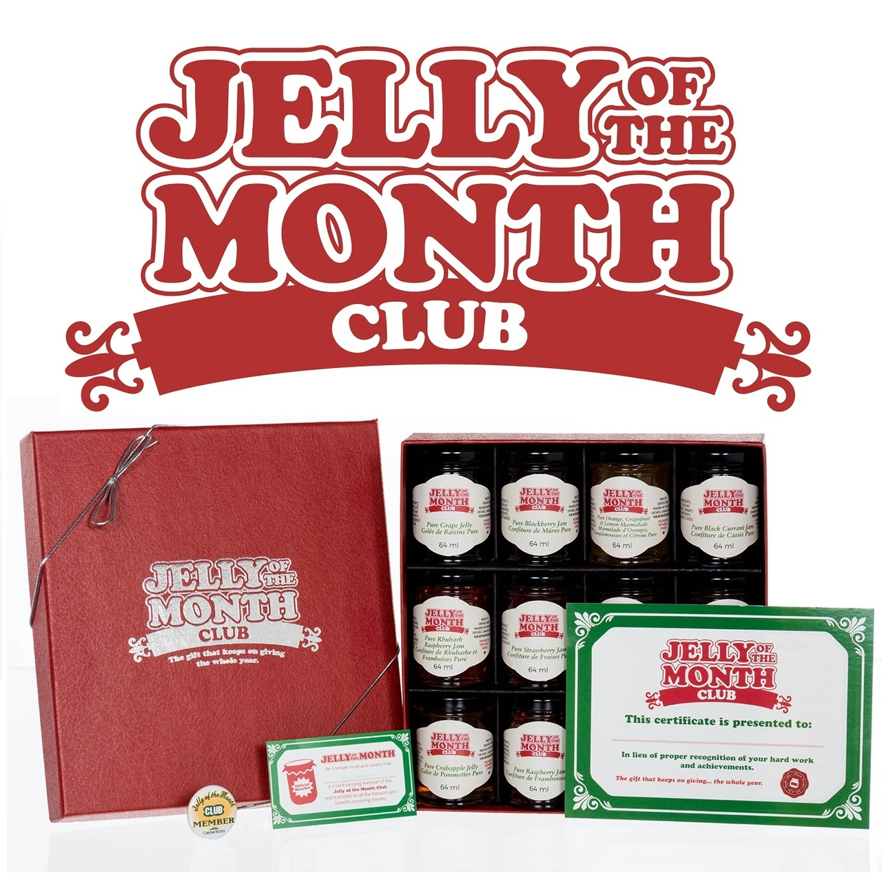 Christmas Vacation Griswold Jelly Of The Month Club Retrofestive