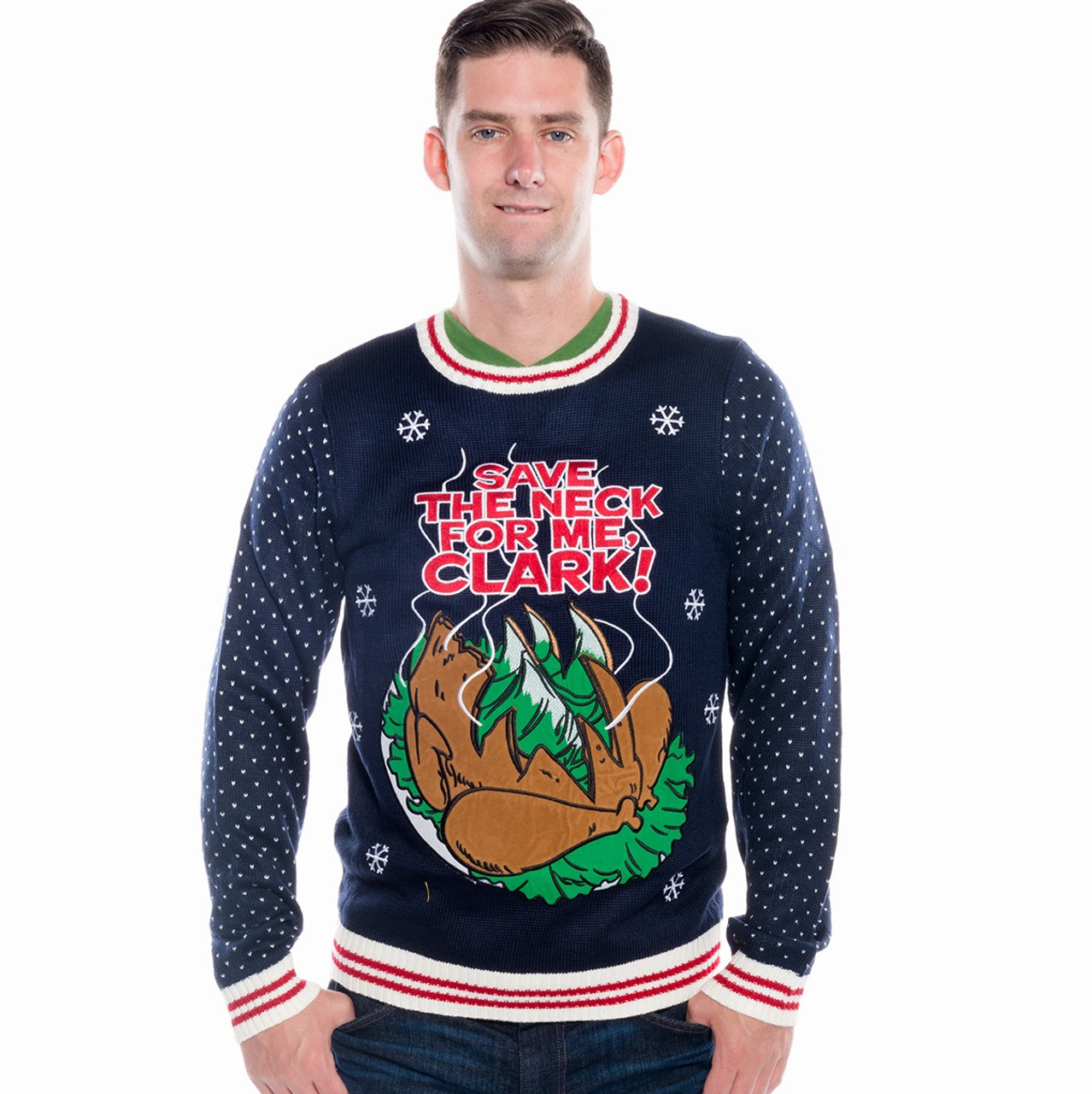 Save The Neck For Me Ugly Christmas Sweater Retrofestiveca