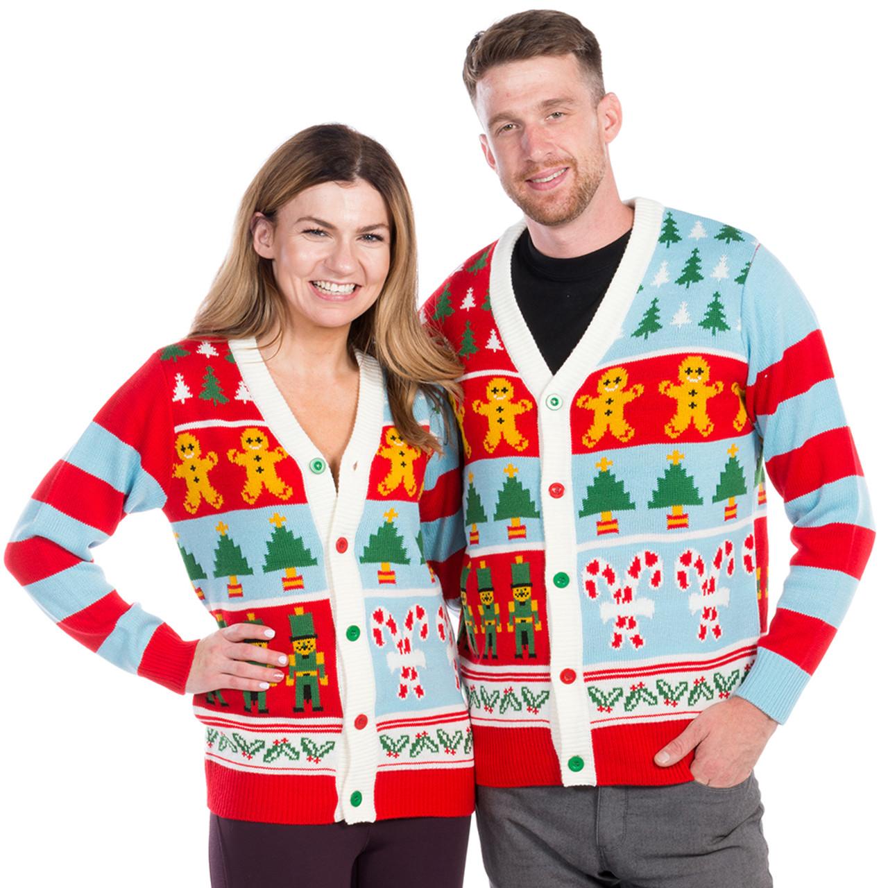 Candy Cane Christmas Sweater Cardigan , World\u0027s Best