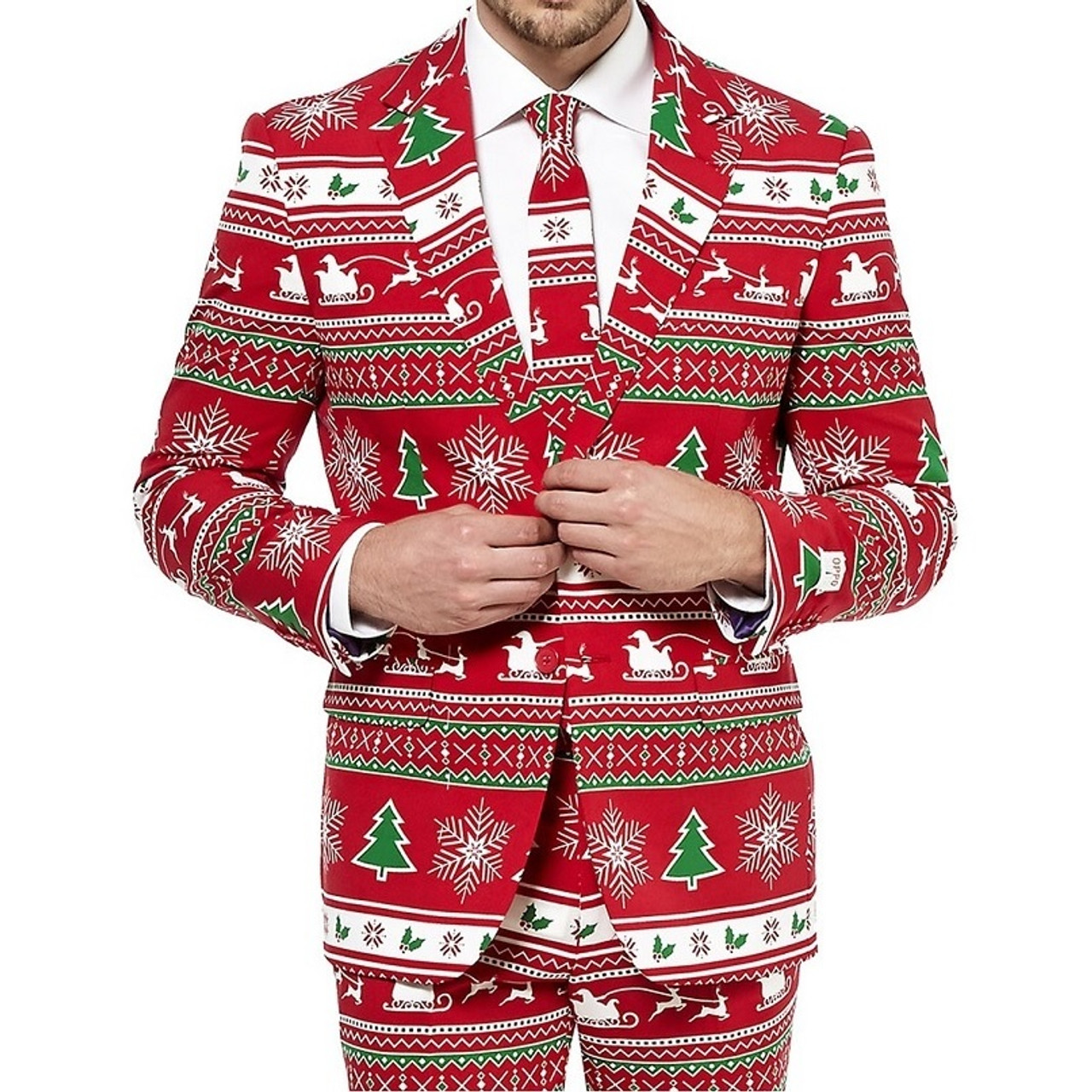751b79cfd030b8 Winter Wonderland Christmas Suit by Opposuits Canada | RetroFestive.ca
