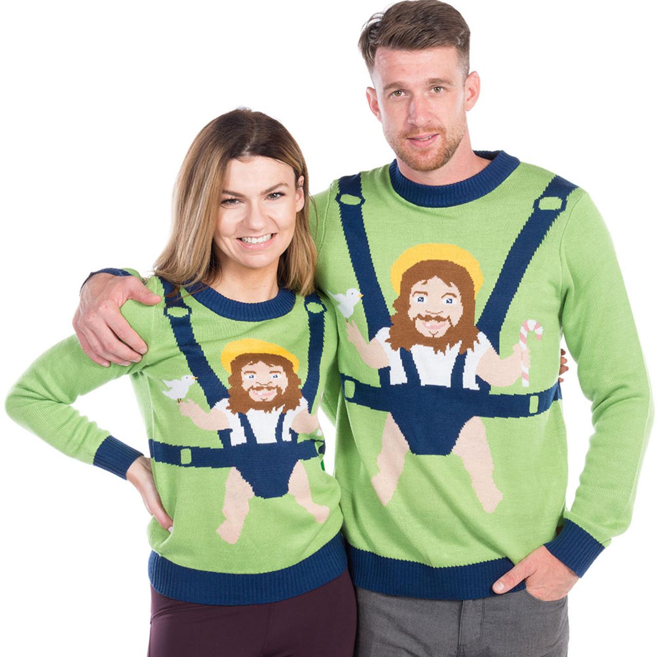 Baby Jesus Christmas Sweater Retrofestiveca