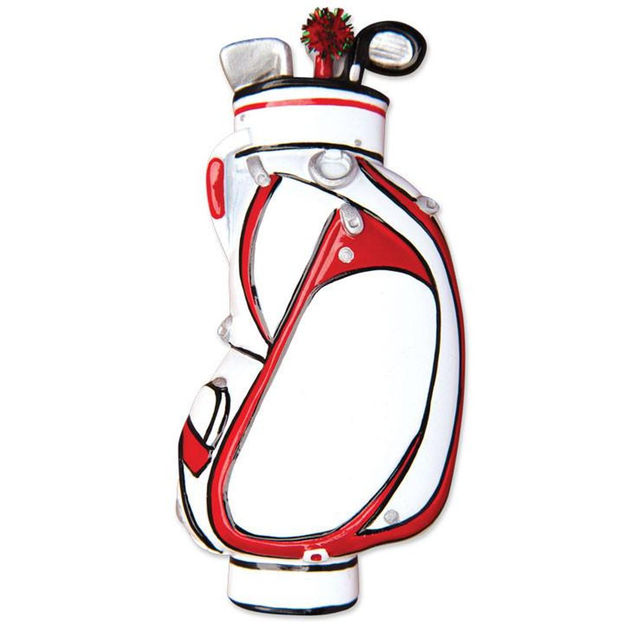Golf Bag Personalized Ornament. Personalized Ornaments f3da8ec0d313b