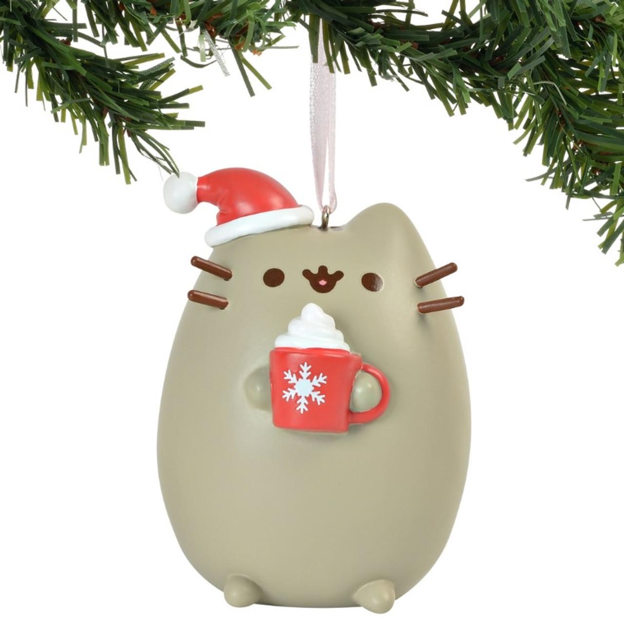 Pusheen Christmas.Meowy Christmas Pusheen Ornament