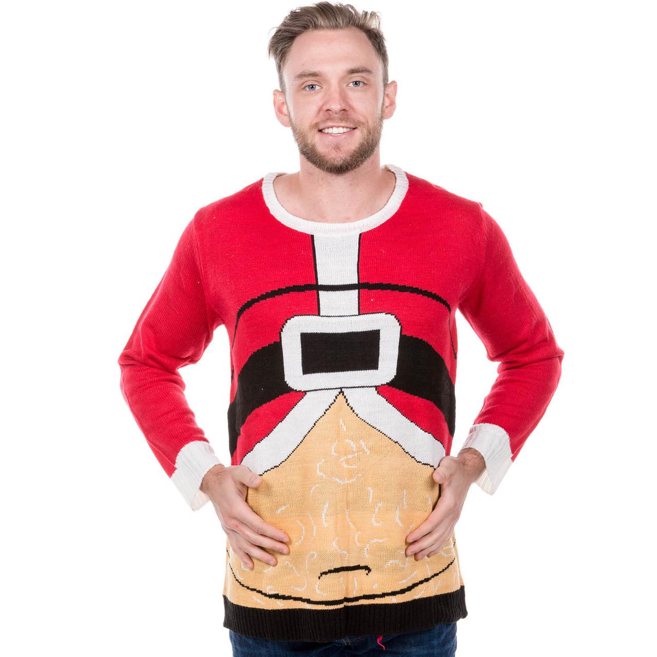 574da23b303 Fat Santa Ugly Christmas Sweater by Forum - RetroFestive.ca