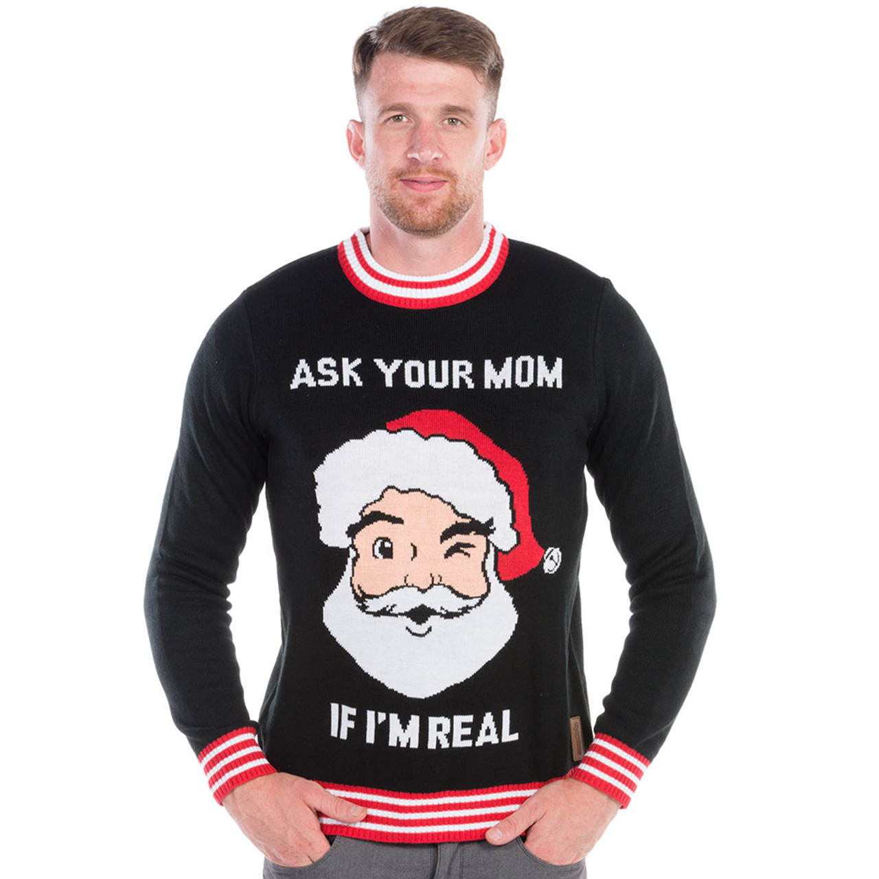 9511f7d07e2 Naughty Christmas Sweater for Men